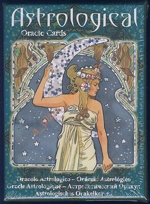 NEW Astrological Oracle Cards Deck Lunaea Weatherstone Antonella Castelli