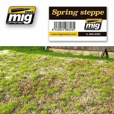Ammo Of Mig Vegetation Grass Ground Spring Steppe Amig8353