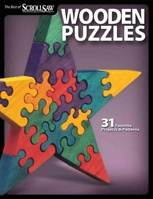 Wooden Puzzles - New Paperback Book