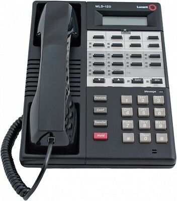 Avaya Lucent Partner MLS-12D Black Telephone REFURB WARRANTY