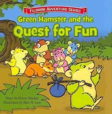 Green Hamster And The Quest For Fun - New Hardcover Book