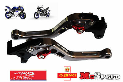 YAMAHA YZF R125 MT-125 2014-2017 Short Adjustable Brake & Clutch CNC Levers