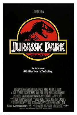 Home Wall Art Print - Vintage Movie Film Poster - JURASSIC PARK - A4,A3,A2,A1