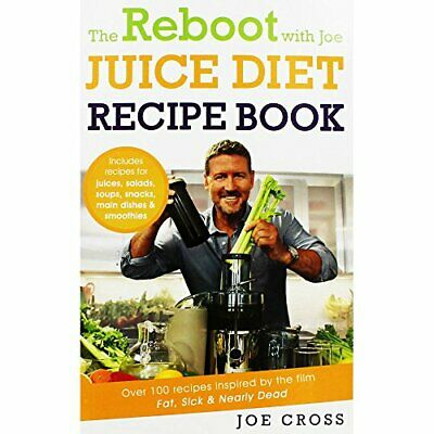 The Reboot With Joe Juice Diet Recipe Book by Joe Cross Book The Cheap Fast Free