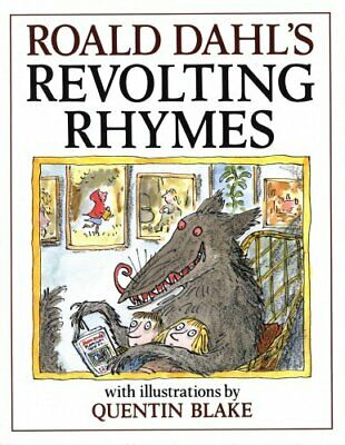 Revolting Rhymes by Dahl, Roald Hardback Book The Cheap Fast Free Post