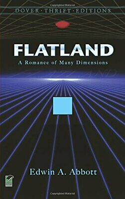 Flatland: A Romance of Many Dimensions (Dover T... by Abbott, Edwin A. Paperback