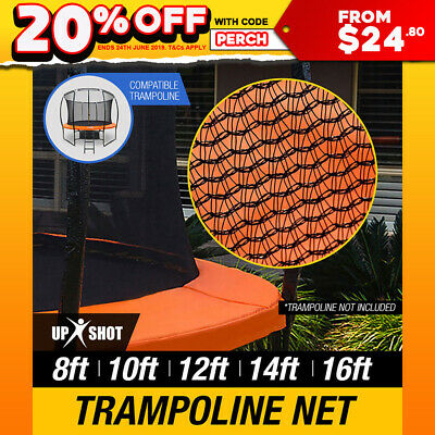 REPLACEMENT TRAMPOLINE INSIDE SAFETY NET ROUND ENCLOSURE 8ft 10ft 12ft 14ft 16ft