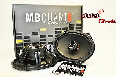 "MB Quart RKM168 6"" x 8"" / 5"" x 7"" Reference Series Coaxial Car Audio Speakers"