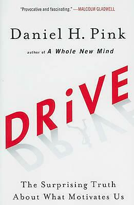 Drive: The Surprising Truth about What Motivates Us by Daniel H. Pink (English)