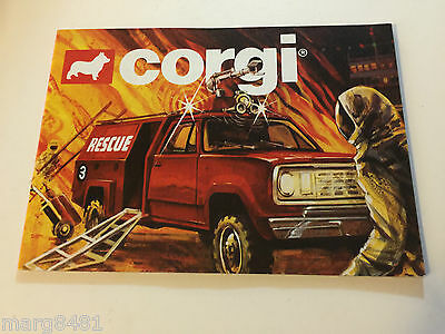 1980 Corgi Collector's Catalogue, Printed in Great Britain