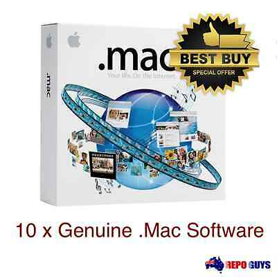 10 x  .Mac 5.0 Family Pack - Apple Computer Software : Brand NEW Sealed
