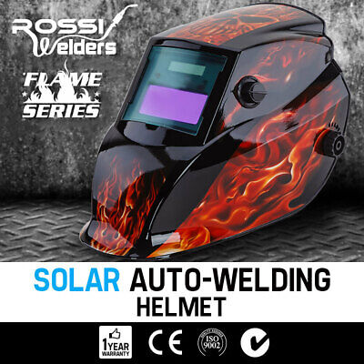 NEW ROSSI Solar Auto Darkening Welding Helmet Mask MIG/ARC/TIG Welder Machine