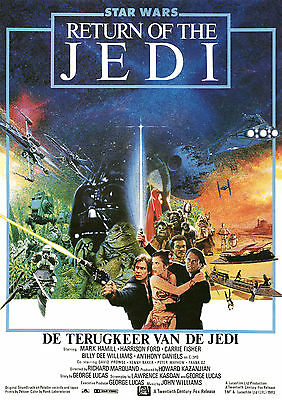 Star Wars Return of Jedi #122 movie poster print