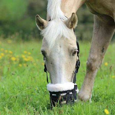 Shires  De-Luxe Nylon Grazing Muzzle Small Pony
