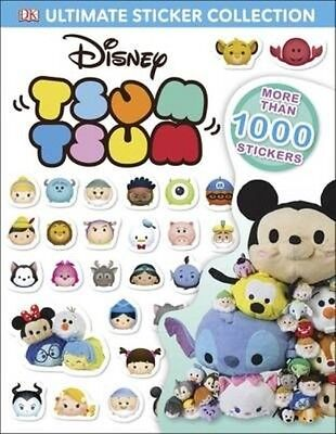 Disney Tsum Tsums Ultimate Sticker Collection by Dk Paperback Book