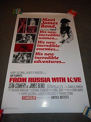 From Russia With Love - Original Ss Rolled Officially Licensed Reproduction