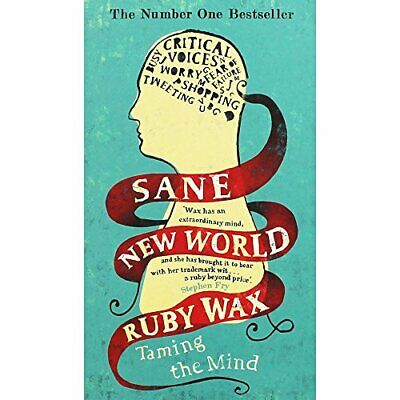 Sane New World - Taming The Mind Book The Cheap Fast Free Post
