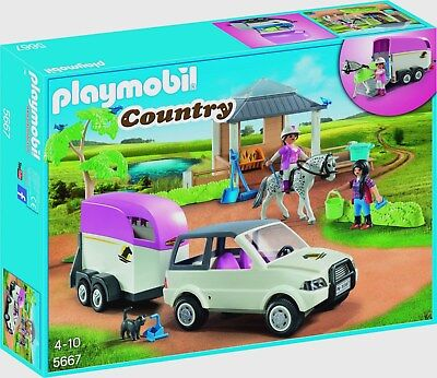 playmobil 3855 reiterhof neu selten eur 53 50 picclick de. Black Bedroom Furniture Sets. Home Design Ideas