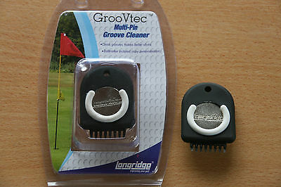 Longridge Golf GROOVTEC CLEANER Grove cleaner for Woods Irons Wedges Driver UK