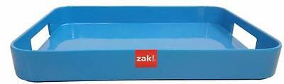 Zak Designs Half Gallery Serving Tray Blue