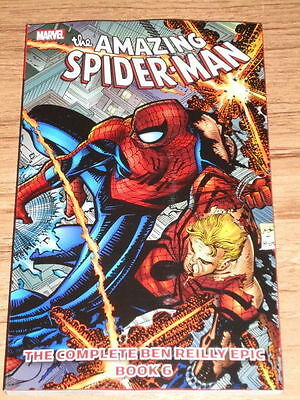 Spider-Man Complete Ben Reilly Epic - Book 6 - Marvel Graphic Novel