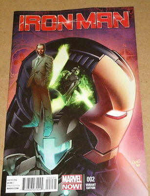 Iron Man # 2 - Cover C - (1:50) Variant - Marvel Comics