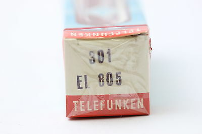 El805 Tube. Telefunken Brand Tube. Sealed Box. With   . Nos/nib. Rc120.