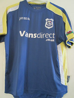 Cardiff City 2008-2009 End of an Era Home Football Shirt Size Small Adult /40286