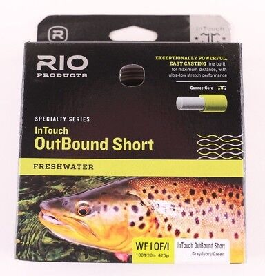 RIO GENERAL PURPOSE TROPICAL SALTWATER WF-7-F #7 WEIGHT FWD FLOATING FLY LINE