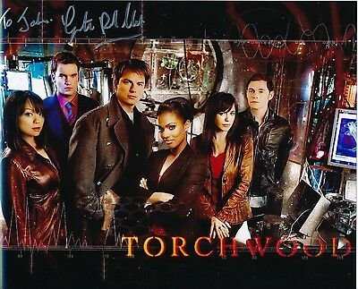 Torchwood Gareth David-Lloyd signed 8x10 Glossy photo