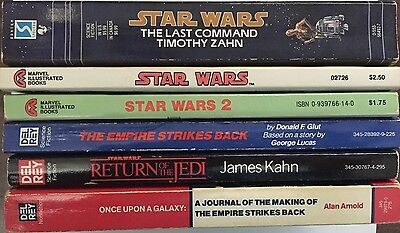 Star Wars – Lot of 6 paperback books