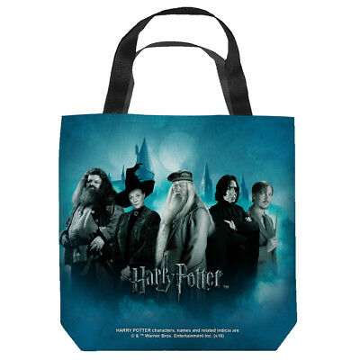 Harry Potter Hogwarts Teachers Officially Licensed Tote Bag 2 Sided Print