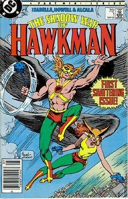 The Shadow War of Hawkman - Complete set of 4