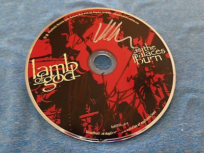 Lamb of God Group Signed Autographed CD d