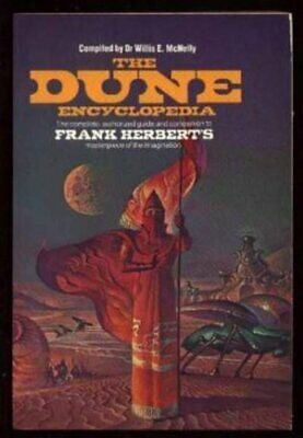 The Dune Encyclopedia Paperback Book The Cheap Fast Free Post