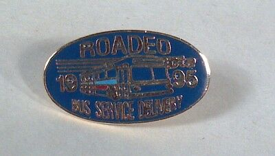 """CTA Chicago Transit Authority Roadeo Pin 1.25"""" Tie Tack 1995 Service Delivery"""