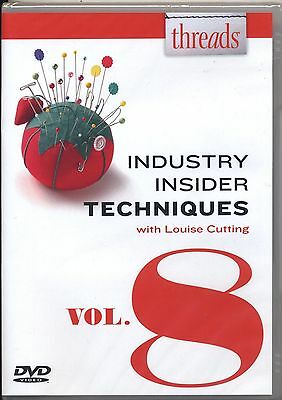 Threads: Industry Insider techniquest with Lousie Cutting Vol 8 9781627109833