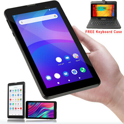 """GSM NEW 7"""" Android 4.4 Unlocked 3G Tablet PC Phone AT&T / T-Mobile Free Keyboard"""