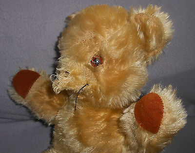 CHAD VALLEY Toys - Sad Old Teddy Bear - With Missing nose Seeks TLC (1)