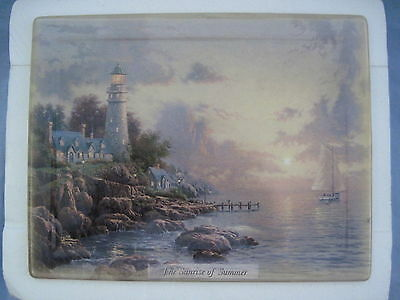 Thomas Kinkade SUMMER - THE SEA OF TRANQUILITY Plaque Collector Plate