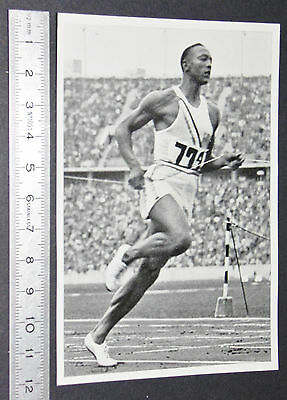 Berlin 1936 Jeux Olympiques Jesse Owens Usa 100 M Serie Olympic Games Athletisme