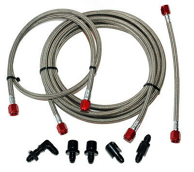 Devilsown Water Methanol Injection Stainless Steel Line Upgrade