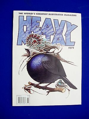 Heavy Metal 279, Bilal, Pepe Moreno, and more. Bird King cover variant A. NEW.