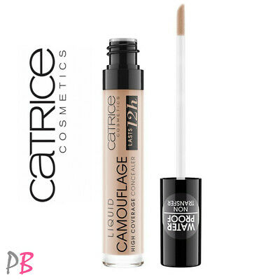 Catrice Camouflage Liquid Concealer High Coverage Under Eye Long Lasting