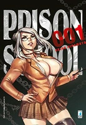 PRISON SCHOOL N. 1 LIMITED EDITION VARIANT COVER - star comics - nuovo italiano