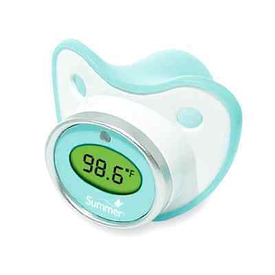 Summer Infant Pacifier Thermometer Fever Alert Glow Feature Baby Kid Health Safe