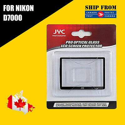 JYC Pro LCD Screen GLASS Protector Cover For Nikon D7000