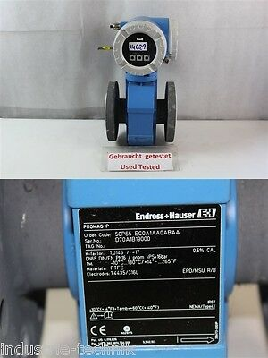 Endress Hauser promag P  50P65-EC0A1AA0ABAA PROMAG 50