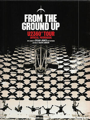 U2 From The Ground Up | Buch Book| Official Photobook dickes Buch mit 254 Seiten