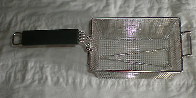 """Basket,Fry, 9.75""""x6""""x6.75""""H, stainless, 5003607"""